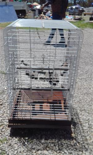 Steel Budgie cage for sale