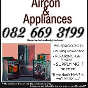 Aircon & appliances BFN