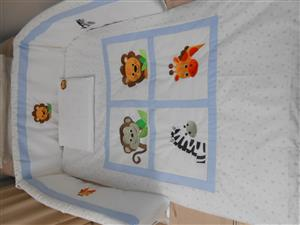 full range of custom made linen and accessories for cots, camp cots, toddler beds and beds.