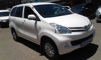 2013 Toyota Avanza AVANZA 1.5 TX