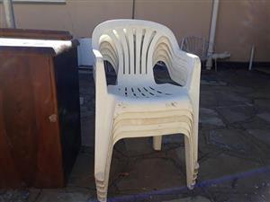 5 stoele