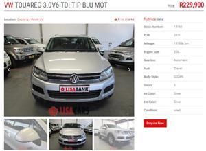 2011 VW Touareg 3.0 V6 TDI