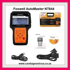 Foxwell NT644 AutoMaster All Makes Full Systems + EPB+ Oil Service Scanner