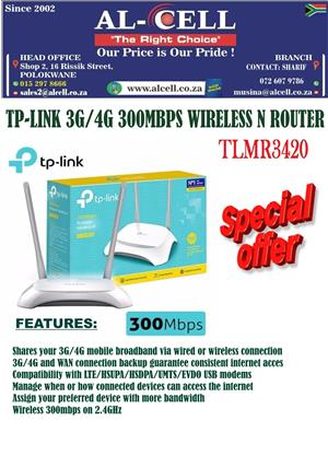 TP-LINK 3G/4G 300 Mbps Wireless N Router