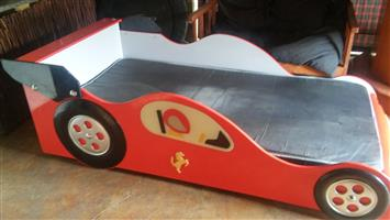 Kids Ferrari bed