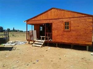 High quality log homes available