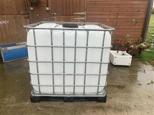 IBC Water container Tank 1000L