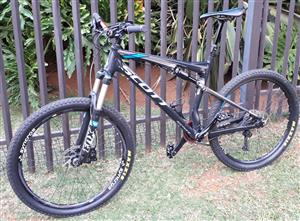 Scott Spark 640 with loads of accessories