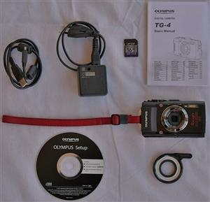 Olympus Stylus TG-4 Tough Camera