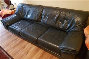 3-Piece Leather Lounge Suite
