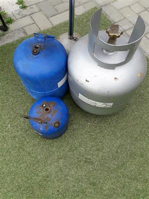 3 Gas containers for sale