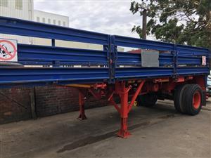 hazchem dropside trailer 12 t for sale