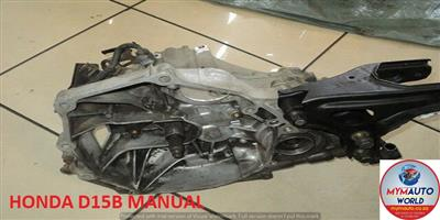 IMPORTED USED HONDA D15B MANUAL GEARBOX