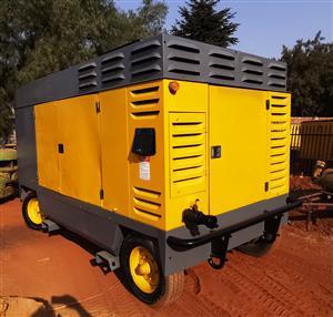 Atlas Copco 1000CFM Mobile Diesel Compressor