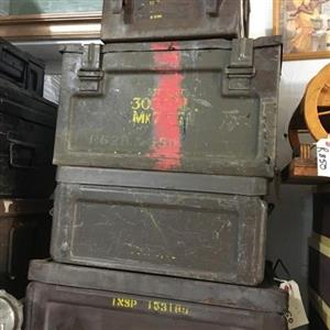 Tupperware for men (army ammo boxes)