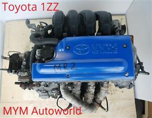 TOYOTA COROLLA/RAV4/AVENSIS 1.8L, TOYOTA 1ZZ Complete engines