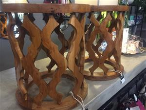 Indo Side Tables