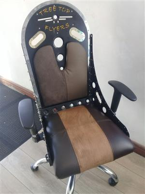 Executive Hand Crafted Bespoke Office Chair