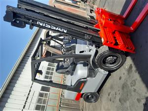 NISSAN FORKLIFTS FOR SALE - 2.5 & 3 TON DIESELS