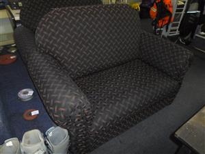 2x Material 2 Seater Couches