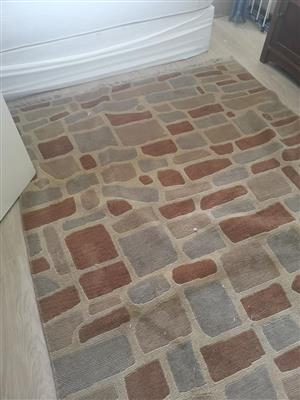 Brick themed carpet for sale