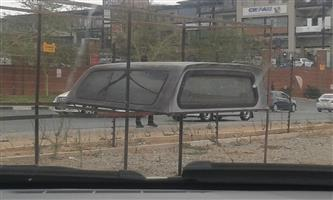 Ford Ranger or BT50 Mazda Double Cab Canopy