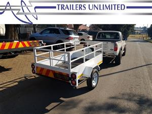 TRAILERS UNLIMITED SMALL UTILITY TRAILERS.