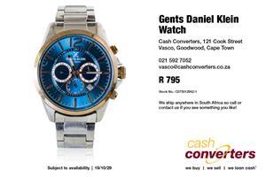 Gents Daniel Klein Watch