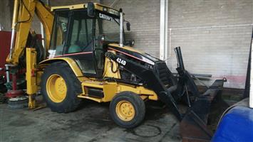 Caterpillar 424D Backhoe loader 4x2