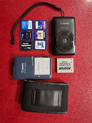 Canon IXUS 130 Camera with extras