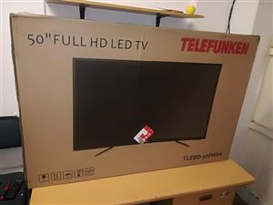 50 inch telefunken. Brand new with warranty