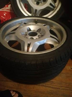 bmw mags with tyres