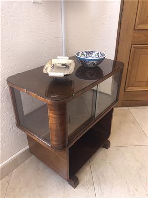 Antique Art Deco Display Cabinet (small)