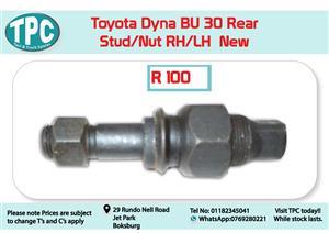 Toyota Dyna BU 30 Rear Stud/Nut LH/RH for Sale at TPC