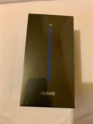 Note 10 Samsung galaxy Note 10 256gb brand new sealed the box