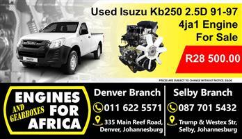 Isuzu Kb250 2.5D 4ja1 91-97 Engine For Sale