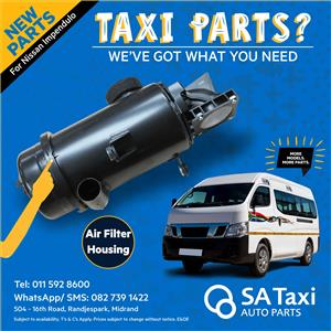 New Air Filter Housing suitable for Nissan NV350 Impendulo - SA Taxi Auto Parts quality spares