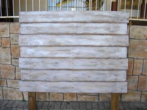 Special! RS 142 Lezaan Rustic Headboard. Was R3995 BUT Only R2995 If Ordered Before 26 April 2019!