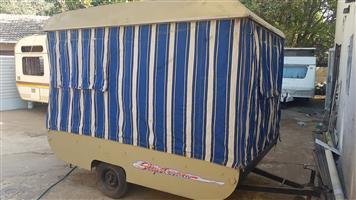 Jurgens Slipstream popup caravan for contractors