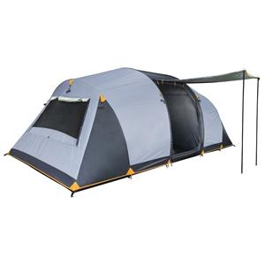 OZTRAIL Genesis 9 Person Tent- A 3-room dome with an ideal layout for families.