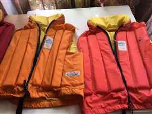 Life Jackets for sale (7 life jackets different sizes)
