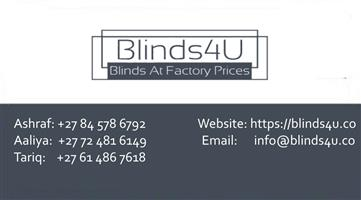 Blinds and laminate flooring
