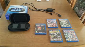 PS Vita and games for sale