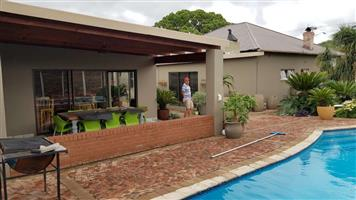 TO LET: R16000 p/m, beautiful 4 bedrooms with 3 on-suite bathroom, swimming pool, and much more to see