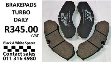 BRAKE PADS TURBO DAILY