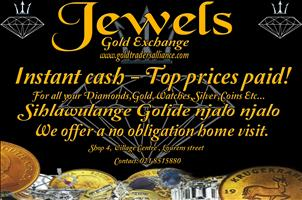 Instant cash. Top prices paid for your unwanted jewellery even if broken!!!!!!!