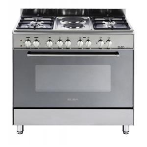 ELBA 900mm 5 Burner Gas Electric Stove Stainless Steel