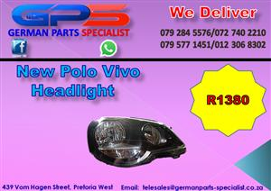 New VW Polo Vivo Headlight for Sale