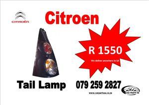 CITROEN TAIL LAMP  R1550 CALL OR WATT APP  079 259 2827