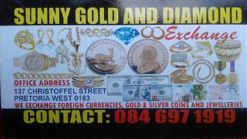 CASH FOR GOLD JEWELLERY AND OLD COINS